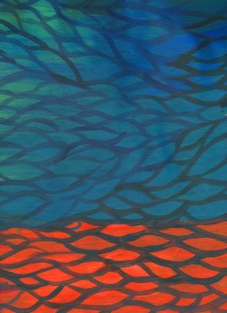 raster bright background brash stroke  acrylic illustration Stock Illustration - 18969421