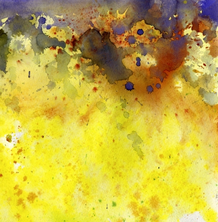 watercolor raster background  blots texture Stock Photo - 18969293