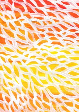 acyclic: raster acrylic color background. brashstroke and ornament