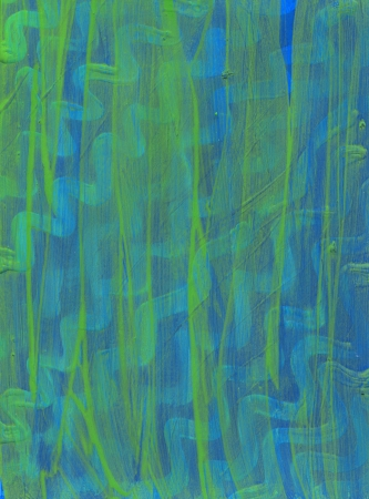 green paint raster background. green brash strokes texture Stock Photo