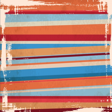 geometric aztec pattern  Ethnic striped pattern in retro colors   geometric background Vector