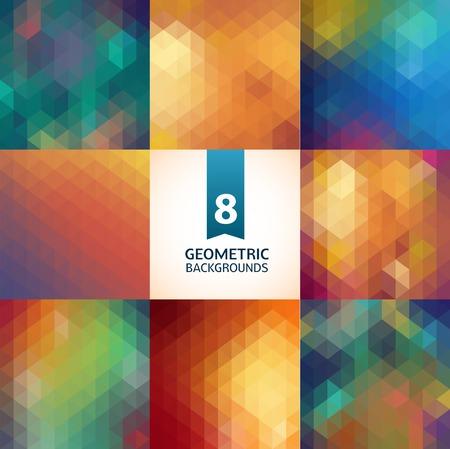 8 geometric patterns