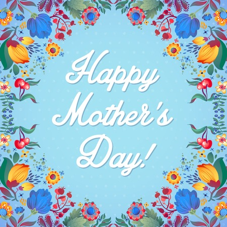 Happy Mother s Day Card Imagens - 27280513