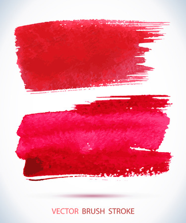 watercolor ink spot. Wet brush stroke on paper texture.  Illustration