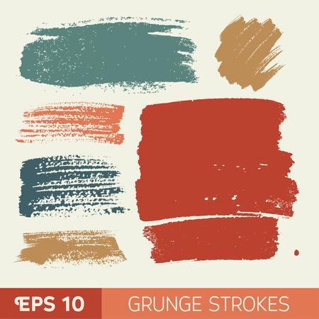 watercolor  grunge ink spot. Wet brush stroke on paper texture.