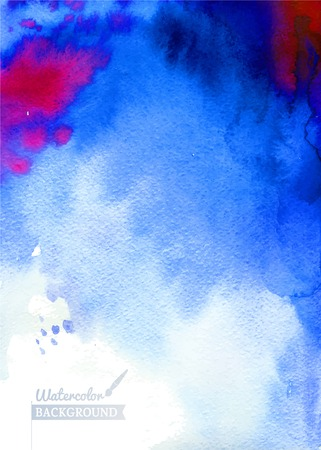 streaks: watercolor background texture with streaks. Abstract hand painted backgrounds. Watercolor composition. Illustration