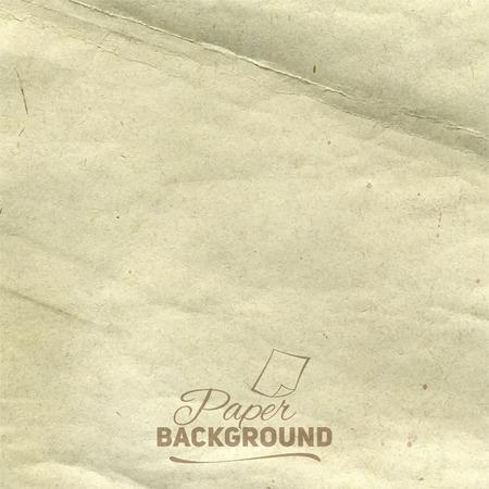 old paper background: Grunge vintage old paper background Vintage Template Old Paper Texture Illustration
