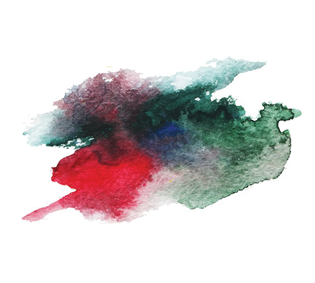 splutter: Abstract isolated watercolor stain wet  texture