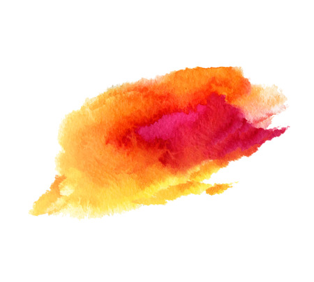 is wet: Abstract isolated watercolor stain wet vector texture