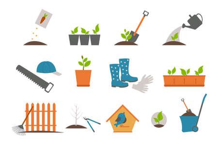 Gardening tools Ilustração