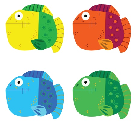 colorful fish Vector