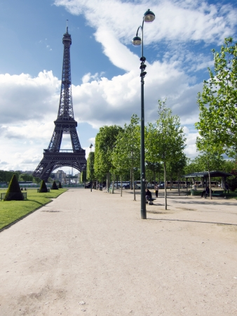Eiffel Tower, Paris Reklamní fotografie
