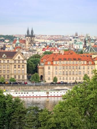 Городской Праге Фото со стока