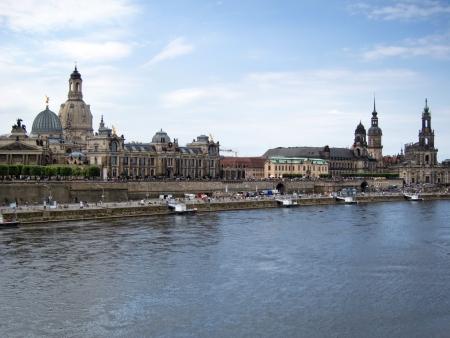 Городской старого Дрездена