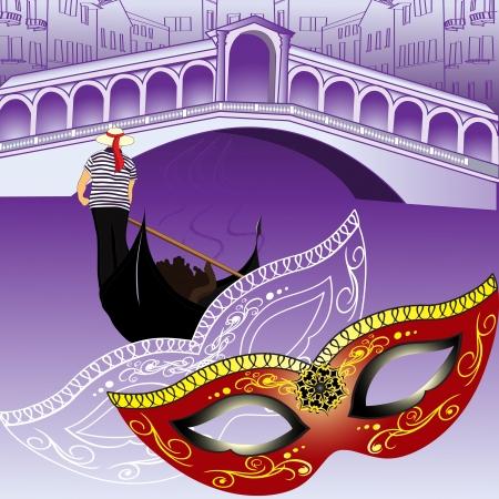 Symbols of Venice Stock Vector - 15704269