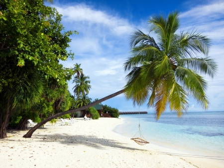 Maldives beach photo