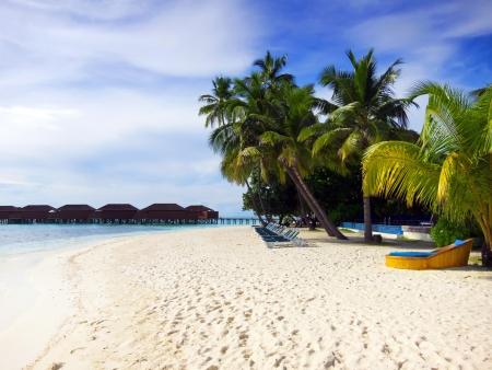 Мальдивы Бич Фото со стока