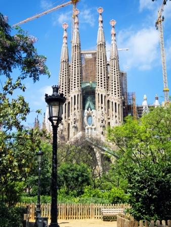 Sagrada Familia, Barcelona Redakční
