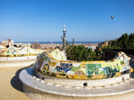 Park Guell, Barcelona photo