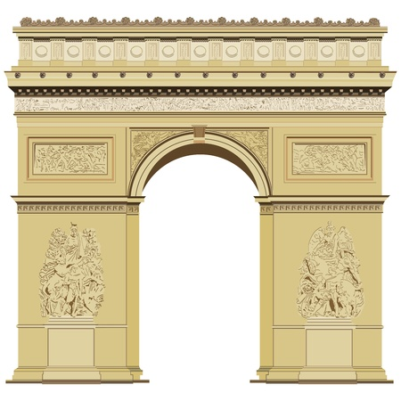 Arch of Triumph Illustration