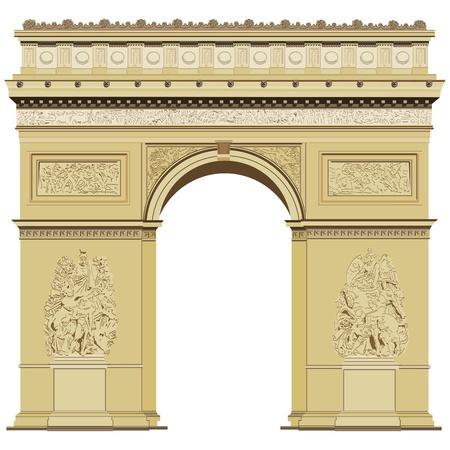 Arch of Triumph Ilustrace