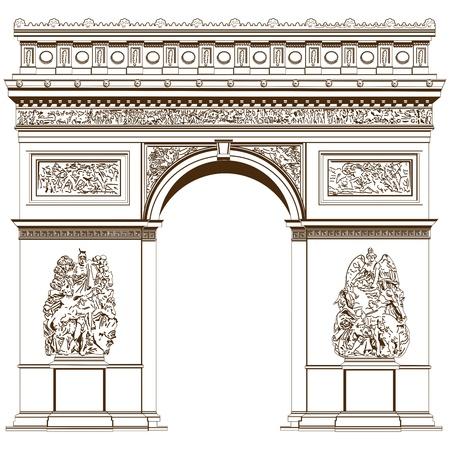 Arch of Triumph Stock Vector - 19975609