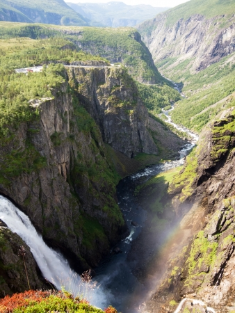 Voringfossen is the  highest waterfall in Norway