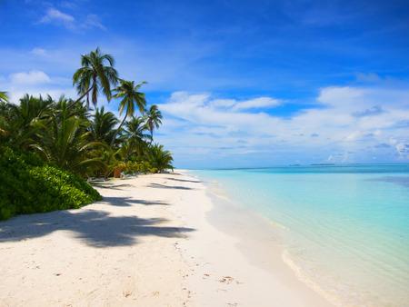 Мальдивские о-ва пляж