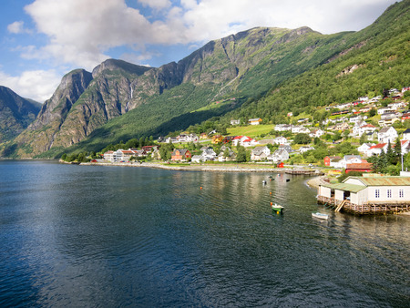 Норвежский фьорд