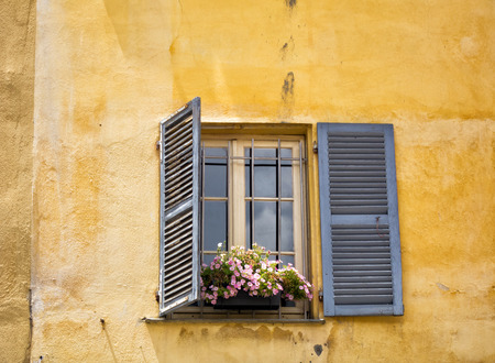 Window in Ajaccio Stock Photo
