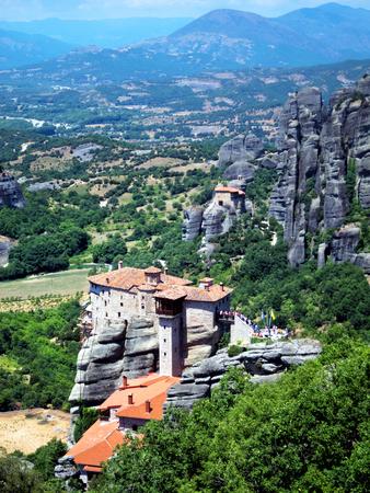 kalambaka: Varlaam monastery at Meteora in Kalambaka, Greece