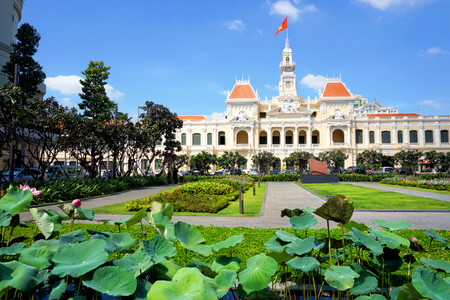 committee: Peoples Committee Building In Ho Chi Minh City (Saigon), Vietnam