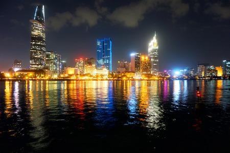 Cityscape of Ho Chi Minh City (Saigon), Vietnam