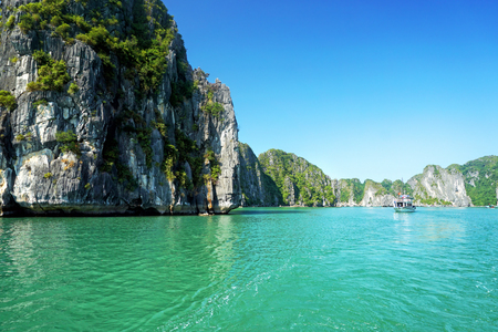 Halong Bay in Vietnam, Southeast Asia Stock Photo