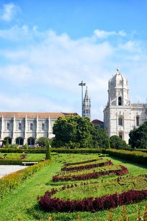 Hieronymites Monastery of Lisbon Stock Photo
