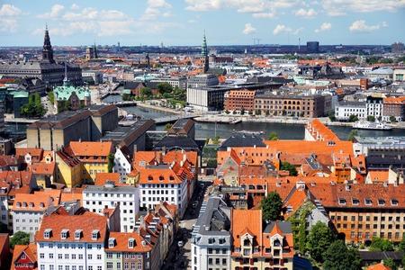 Panoramic view of Copenhagen