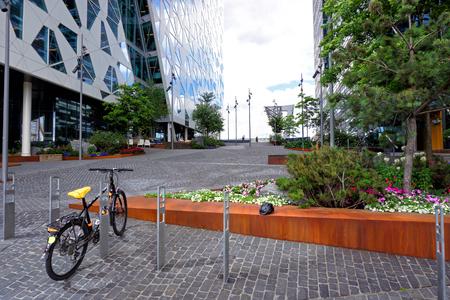 City architecture of Oslo Stock Photo