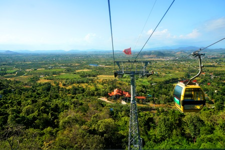 Cable car in Vietnam