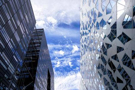 City architecture in Oslo