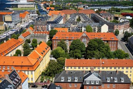 Buildings in Copehnagen Stock Photo