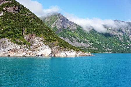 Beautiful landscpae panorama on Gryllefjord Senja, Norway