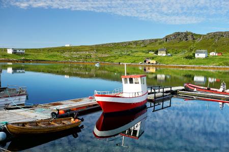 Fishing village in Norway Reklamní fotografie