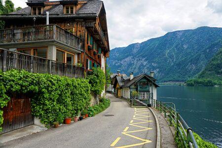 Hallstatt mountain village Reklamní fotografie