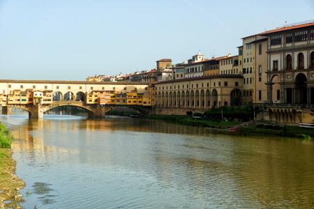 Ponte Vecchio in Florence Reklamní fotografie