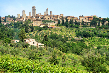 Towers of San Gimignano Reklamní fotografie