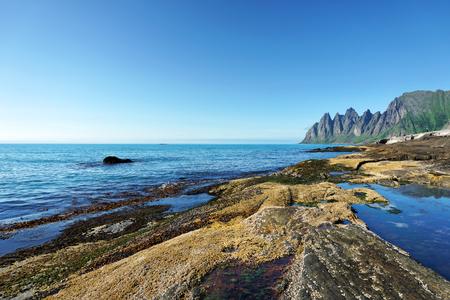 Steinfjord on Senja island Reklamní fotografie