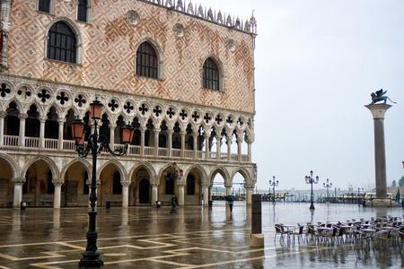 Rainy morning in Venice Reklamní fotografie