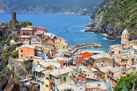 Town Vernazza in Cinque Terre