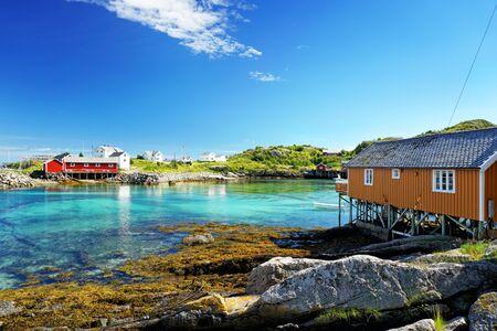 Lofoten islands in Norway Reklamní fotografie