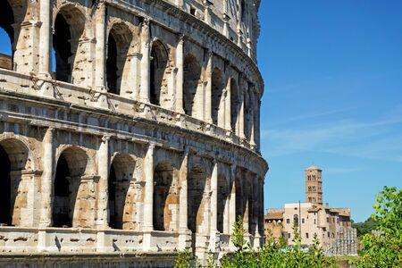 Ancient Colosseum in Rome Reklamní fotografie